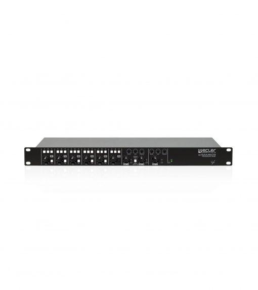 Ecler-eSAM-603-rack-mount-multi-zone-mixer-front