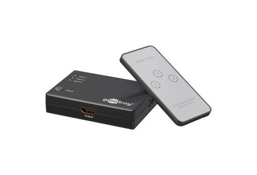 Medium premium hdmi switch 3 bemenet 1 kimenetx